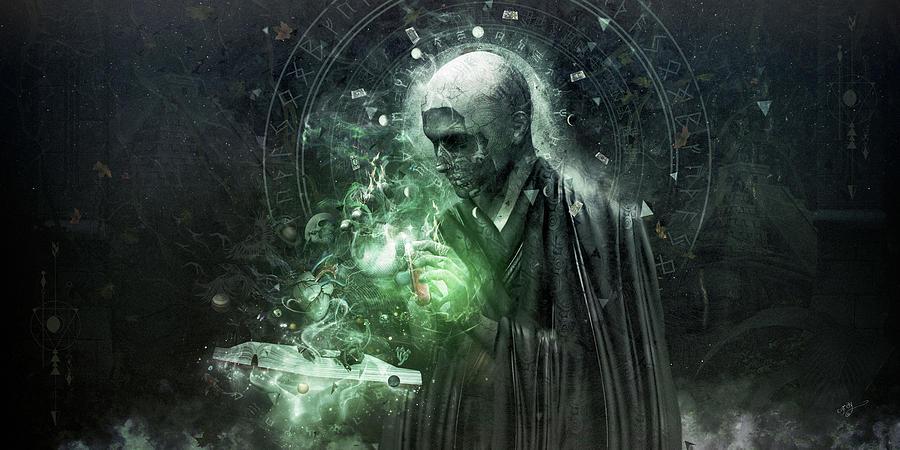 Alchemy Digital Art - The Alchemist by Cameron Gray