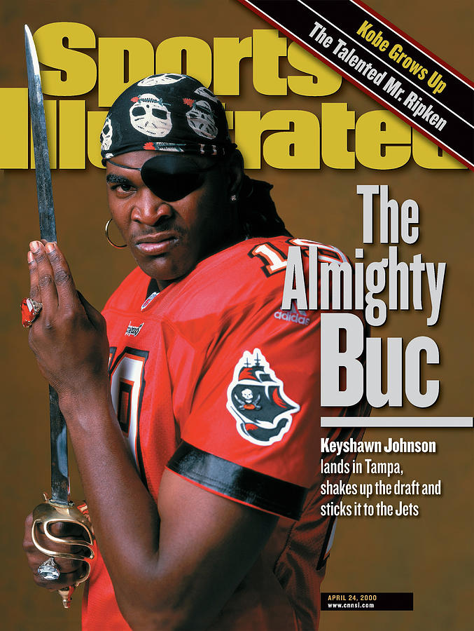The Almighty Buc Keyshawn Johnson Lands In Tampa, Shakes Up Sports Illustrated Cover Photograph by Sports Illustrated