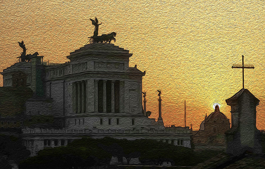 The Altare della Patria by Robert Blandy Jr