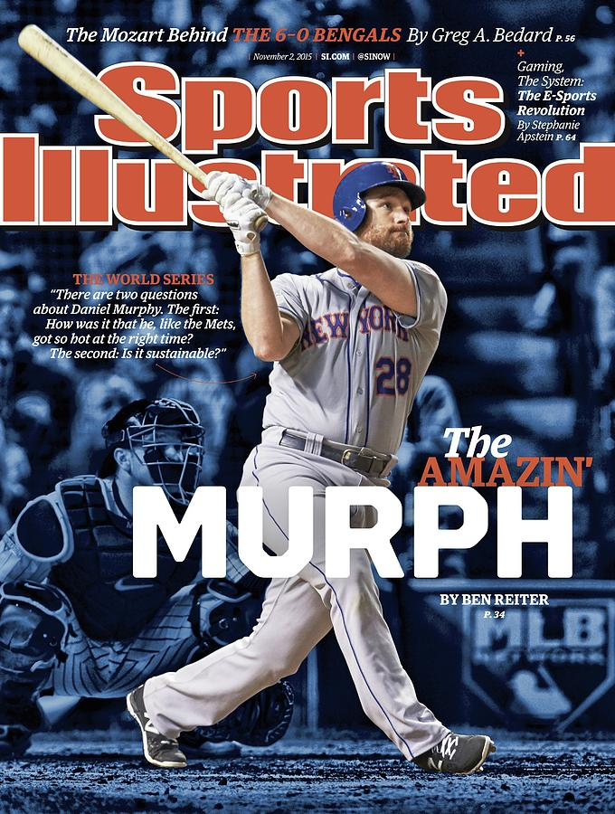The Amazin Murph 2015 World Series Preview Issue Sports Illustrated Cover Photograph by Sports Illustrated