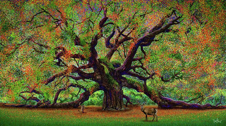 The Angel Oak by Don Olea