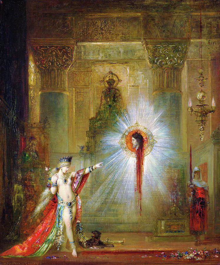 Gustave Moreau Painting - The Apparition - Digital Remastered Edition by Gustave Moreau