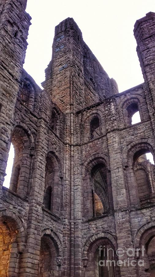 The Arched Windows of Kelso Abbey by Joan-Violet Stretch