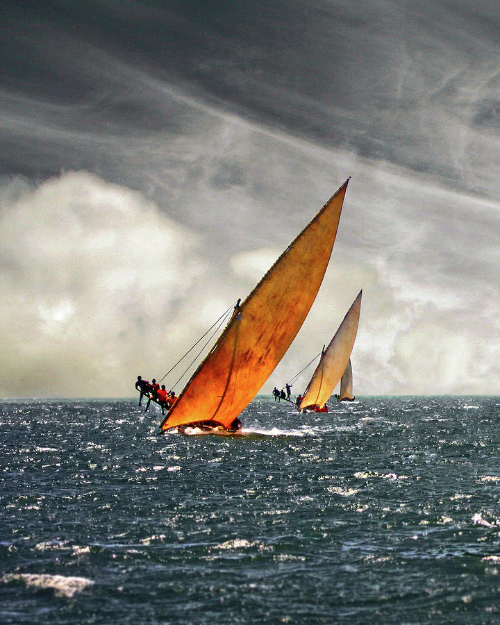 The Art Of Swahili Dhow Racing Photograph by David Schweitzer
