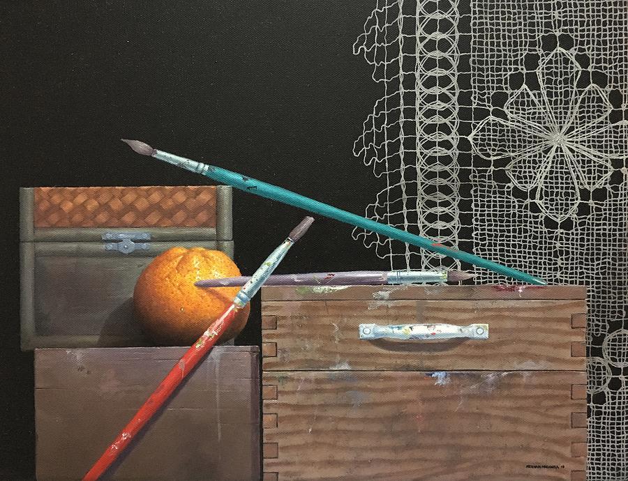 THE ARTIST/S STUDIO III by Hernan Miranda
