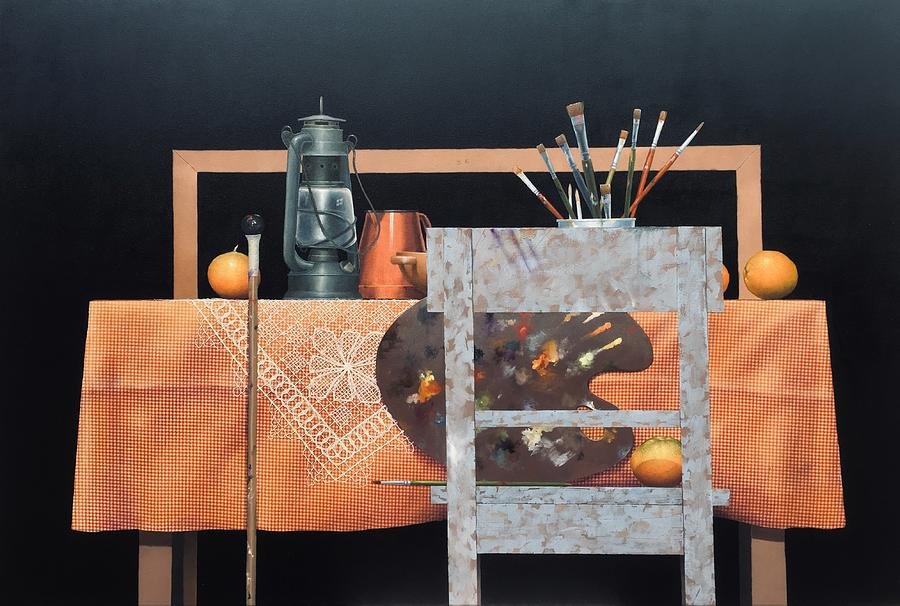 THE ARTIST'S TABLE by Hernan Miranda