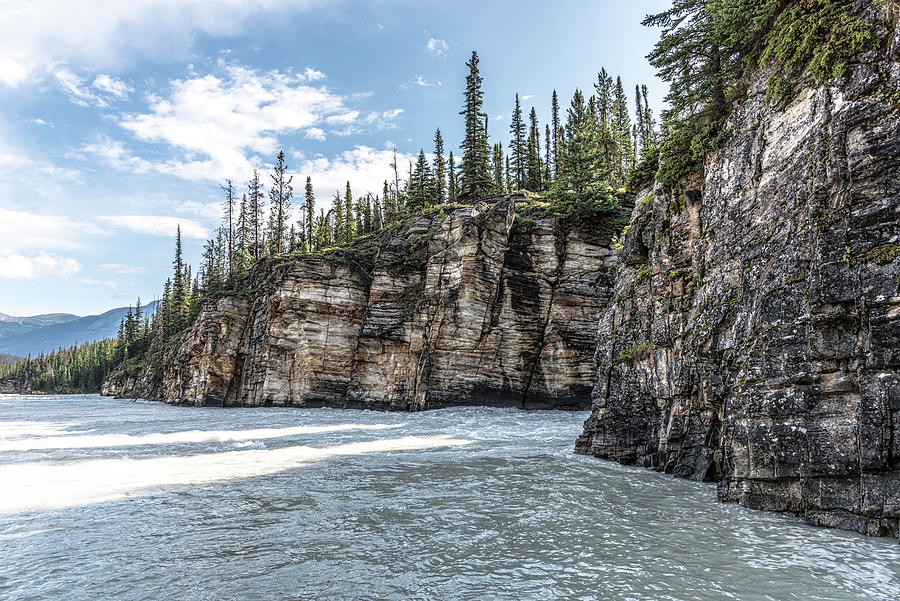 The Athabasca River, Jasper National Park by Johanna Froese
