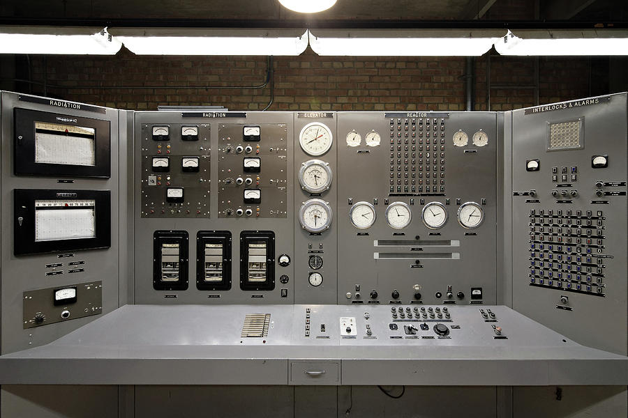 The Atomic Age -- EBR-1 Nuclear Reactor Control Panel in Arco, Idaho by Darin Volpe