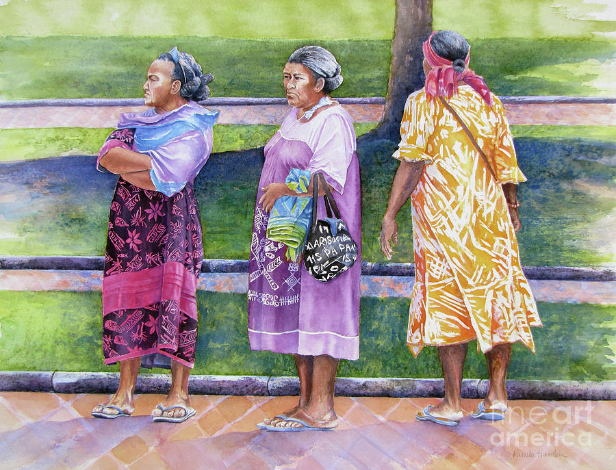 The Aunties In The Park by Pamela Iris Harden