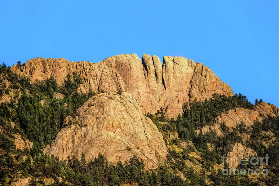 The Back Of Horsetooth Rock by Jon Burch Photography
