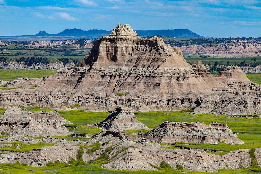 The Badlands of South Dakota by Susan Rydberg