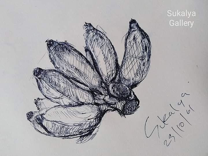 The Banana by Sukalya Chearanantana