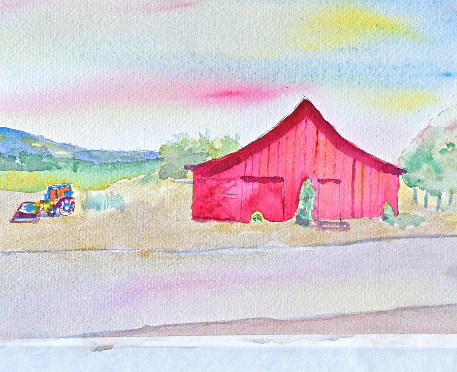 The Barn by Paul Thompson