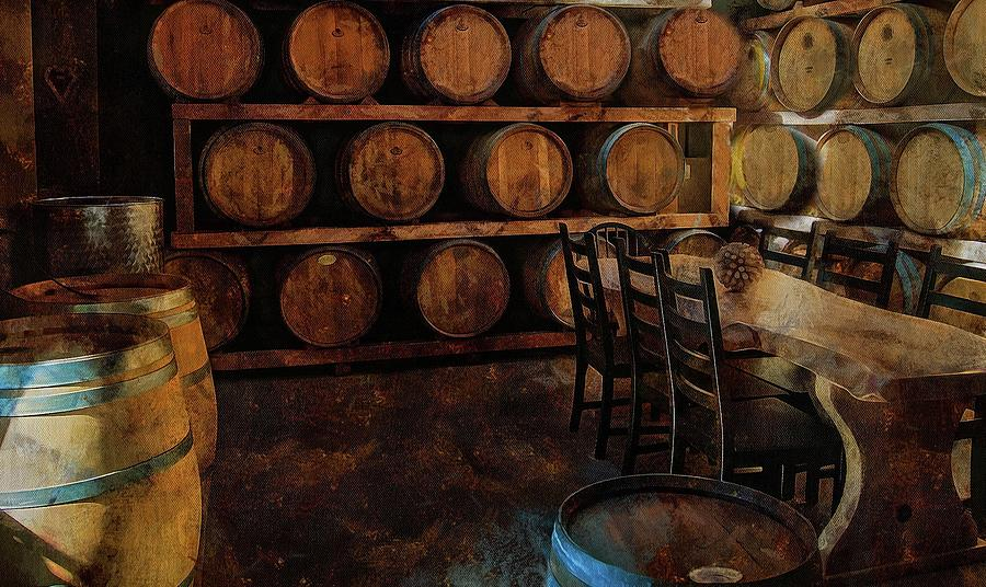 The Barrel Room by Thom Zehrfeld