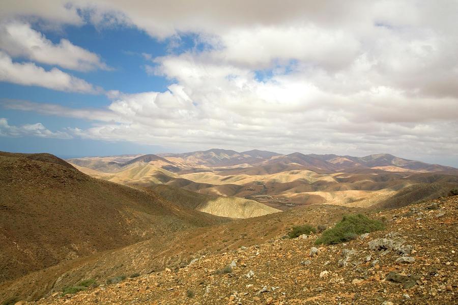 The Barren Hills Of Western Photograph by Roel Meijer