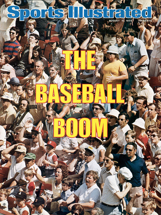 The Baseball Boom Sports Illustrated Cover Photograph by Sports Illustrated