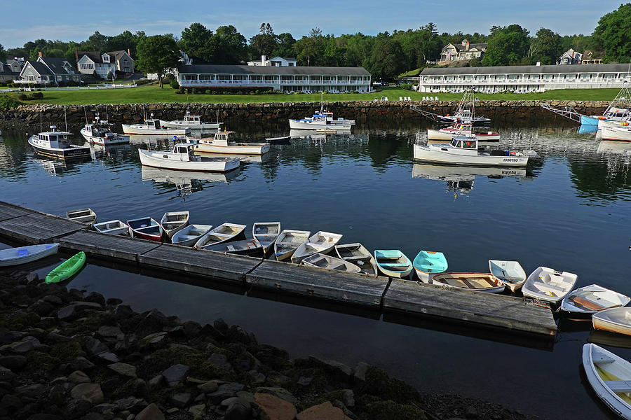 Ogunquit Photograph - The Basin Ogunquit Maine Boats by Toby McGuire