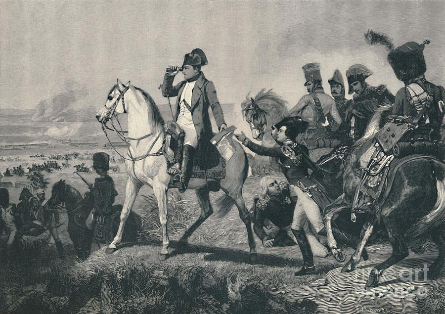The Battle Of Wagram Drawing by Print Collector