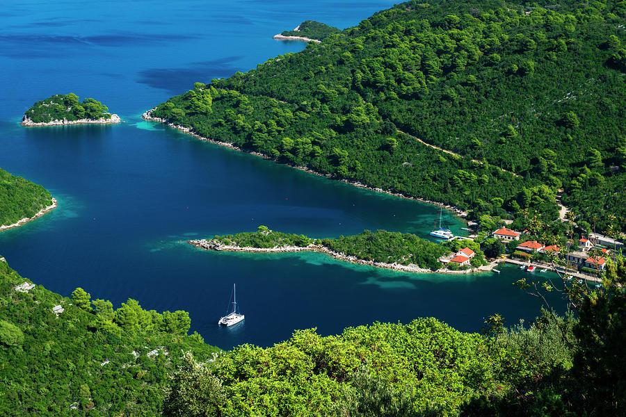 Adriatic Photograph - The Bay At Prozurska Luka, Mljet by Russ Bishop