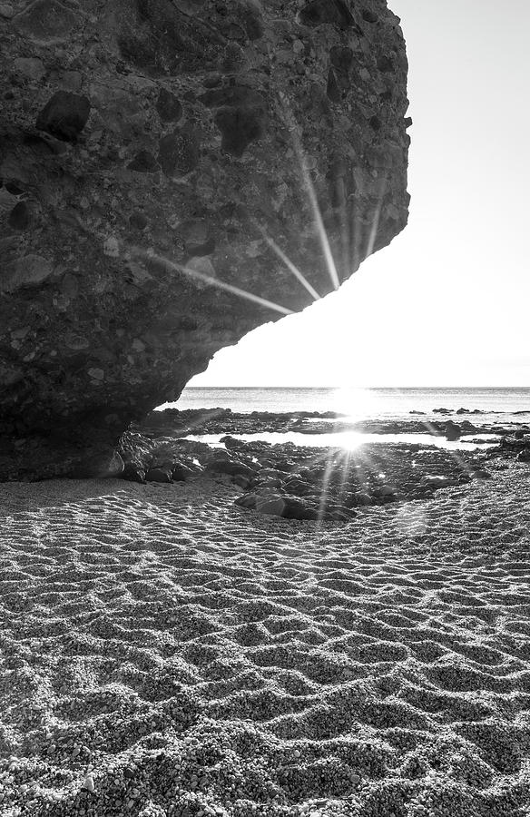 The beach of the dead of Carboneras at dawn, Almeria, Spain by Vicen Photography