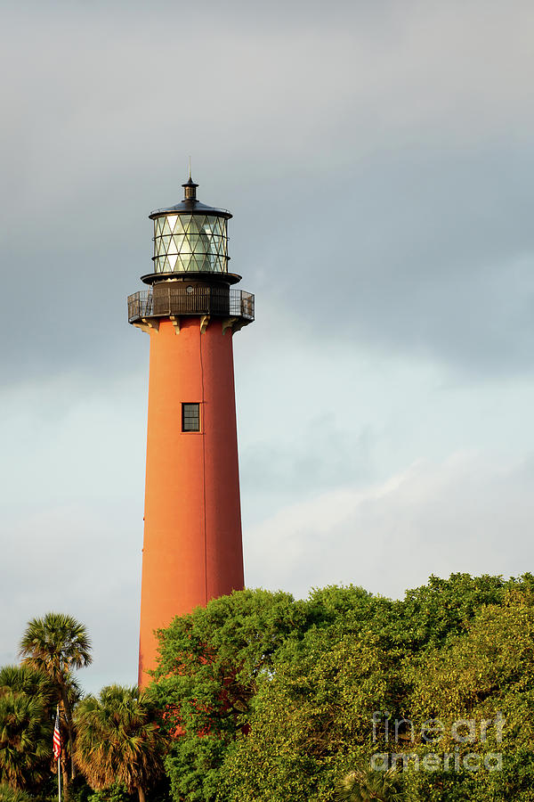 The Beacon Jupiter Lighthouse by Sabrina L Ryan