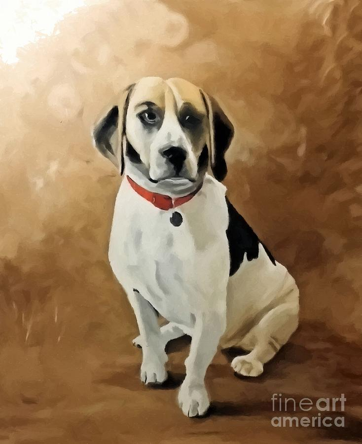 The Beagle Painting