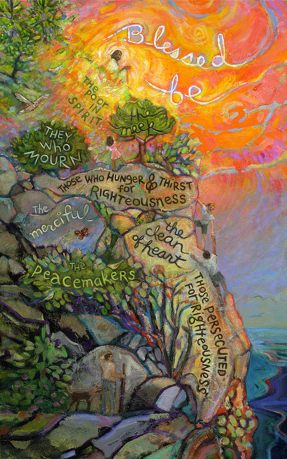 The Beatitudes Painting