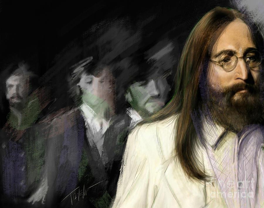 The Beatles Abbey Road Mixed Media