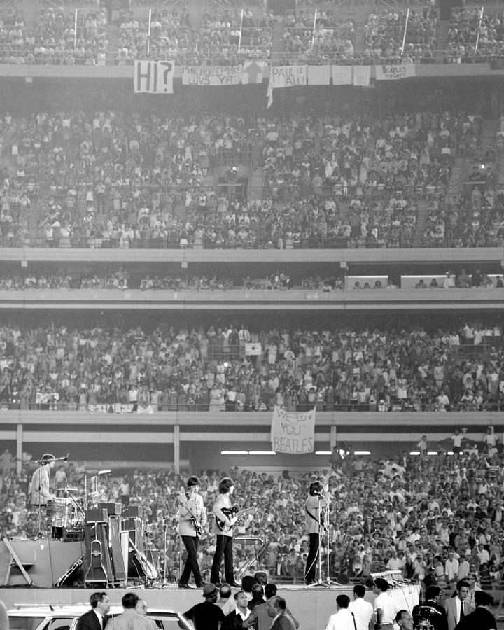 The Beatles At Shea Stadium, Our Mets Photograph by New York Daily News Archive