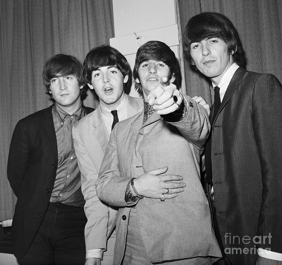 The Beatles At The Paramount Theater Photograph by Bettmann