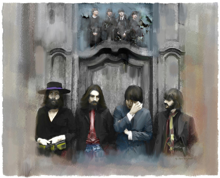 The Beatles  Discontent  by Iconic Images Art Gallery David Pucciarelli