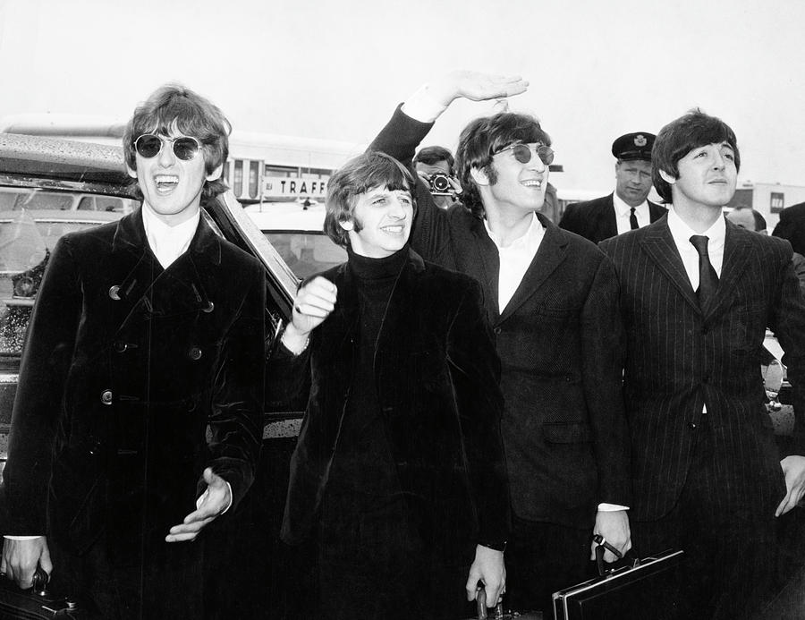 The Beatles Photograph by Express