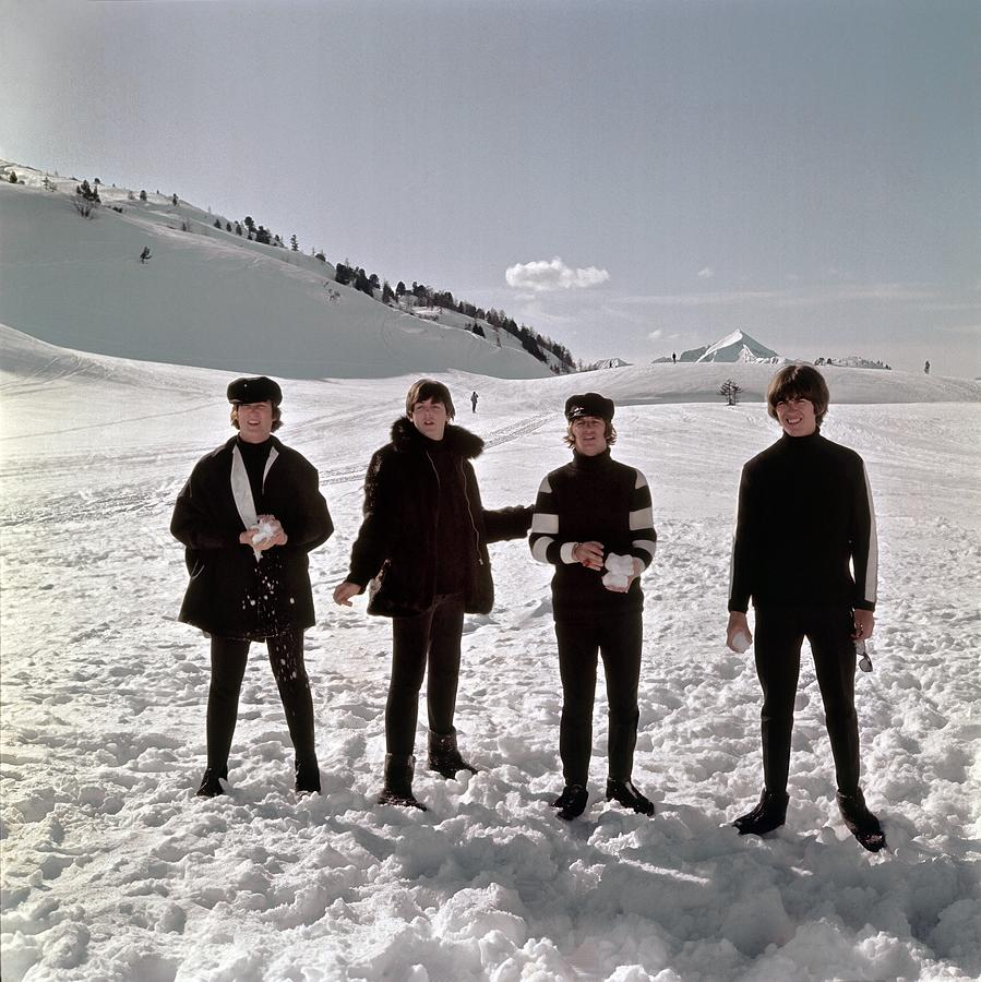 The Beatles In Austria Photograph by Michael Ochs Archives