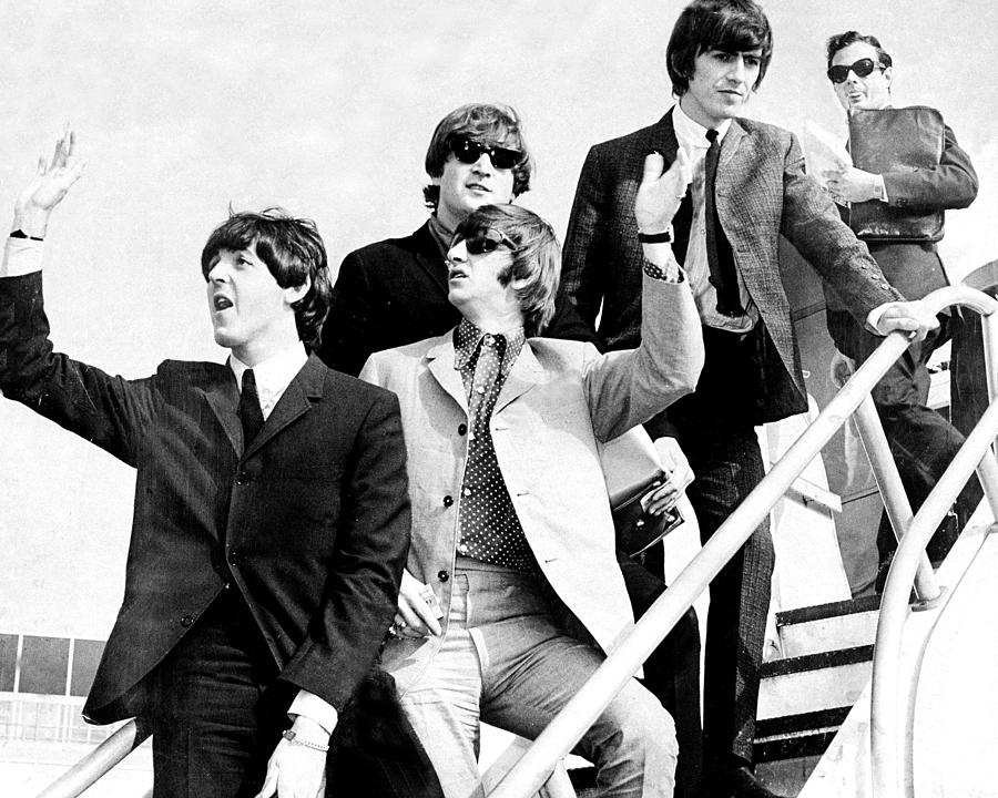 The Beatles, L. To R. Paul Mccartney Photograph by New York Daily News Archive