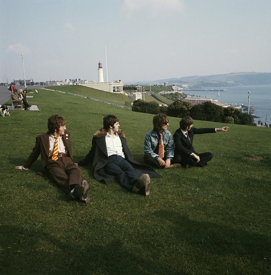 The Beatles On Plymouth Hoe Photograph by David Redfern