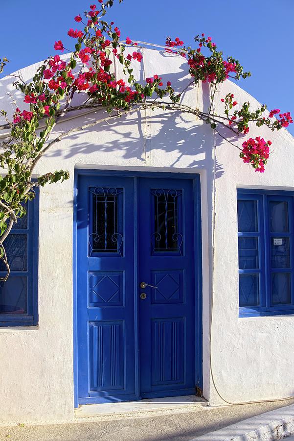 The Beautiful Colors of Santorini by Lucinda Walter