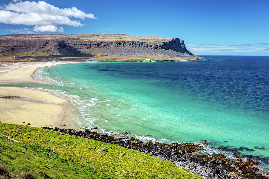 The Beautiful Hnjotur beach in the West Fjords of Iceland by Pierre Leclerc Photography
