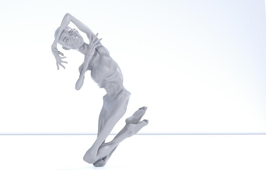 Lisa Digital Art - The Beautiful Lisa Coward 058 by Betsy Knapp