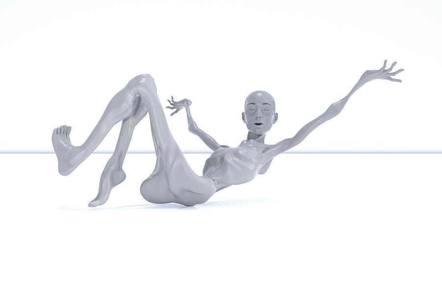 Lisa Digital Art - The Beautiful Lisa Sing 023 by Betsy Knapp