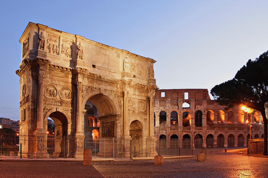 The Beautiful Monumental Arch Of Photograph by S. Greg Panosian