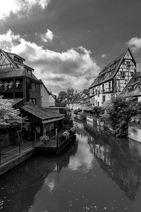 The beautiful neighborhood of Little Venice in Colmar, France by Vicen Photography