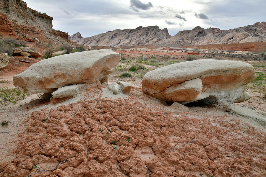 The Beautiful San Rafael Swell and Desert by Ray Mathis