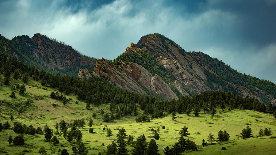 The Beauty Of Boulder by Brian Gustafson