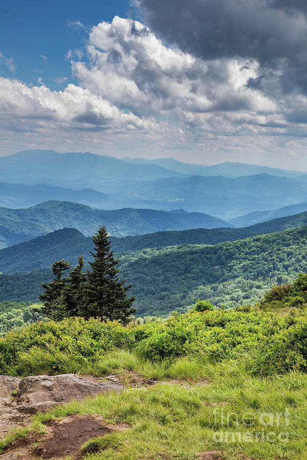 The Beauty of the Blue Ridge Mountains by Lisa Lemmons-Powers