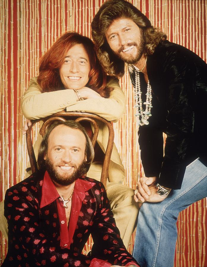 The Bee Gees Photograph by Hulton Archive