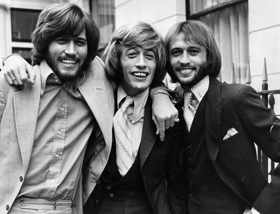 The Bee Gees Photograph by Sydney Omeara