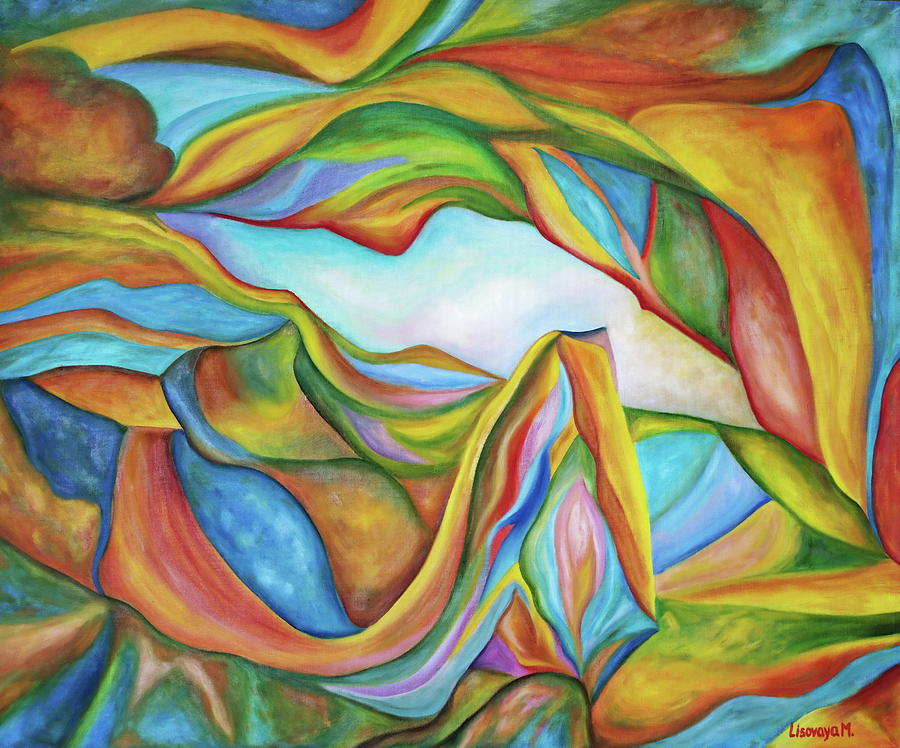 The Beginning. Colorful. Colorful and over 30 Monochromatic. by SurfArtTango Marina Lisovaya