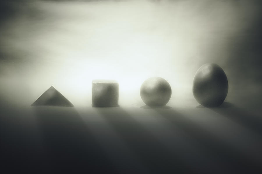 Shapes Photograph - The Beginnings Were Difficult... by Vaclav Kindl