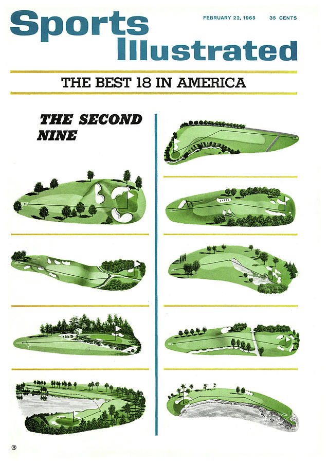 The Best 18 In America The Second Nine Sports Illustrated Cover Photograph by Sports Illustrated