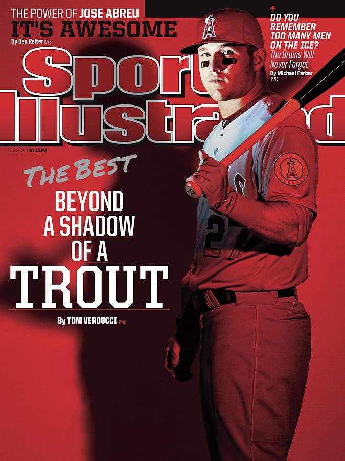 The Best Beyond A Shadow Of A Trout Sports Illustrated Cover Photograph by Sports Illustrated